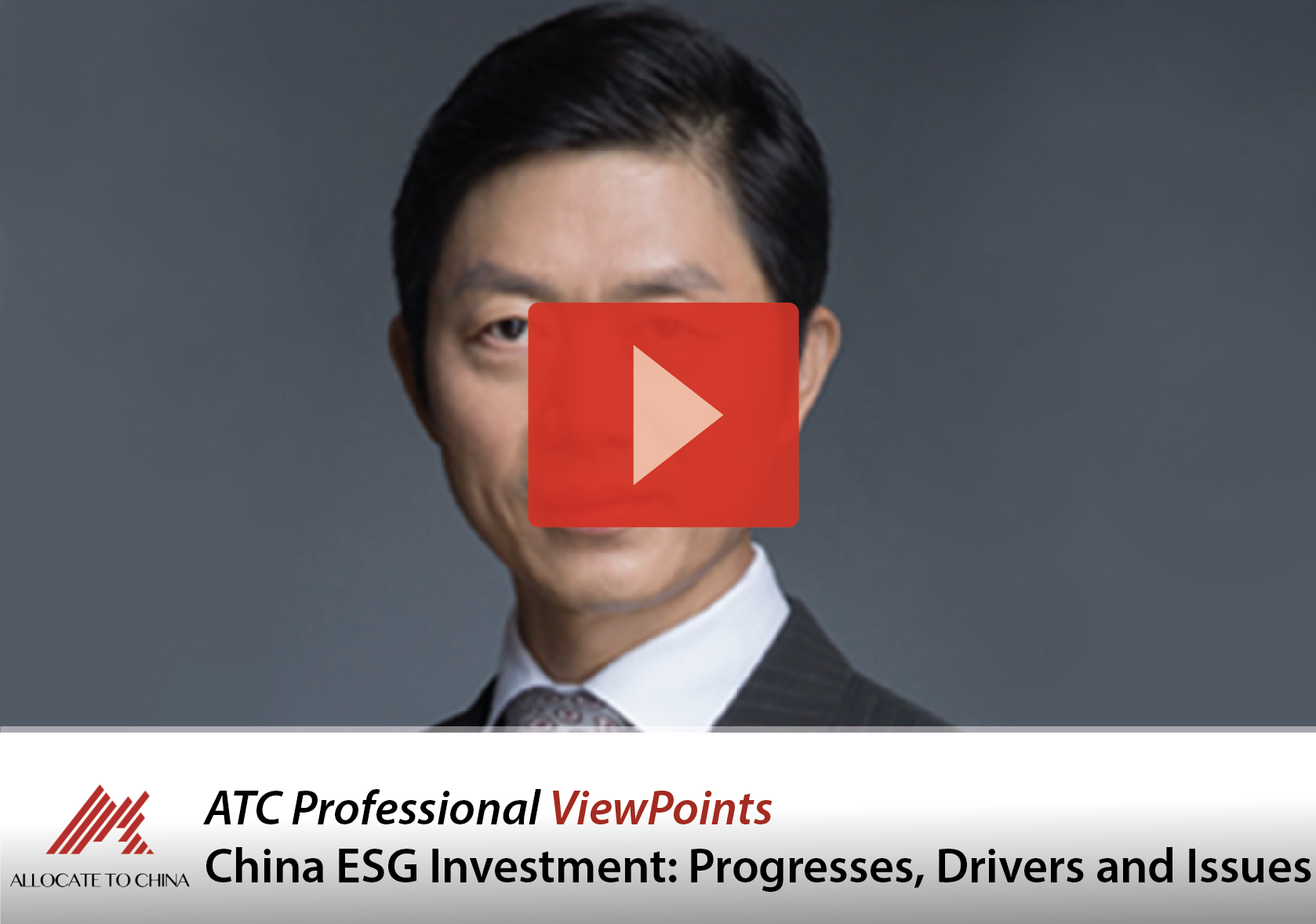 China ESG Investment: Progresses, Drivers and Issues